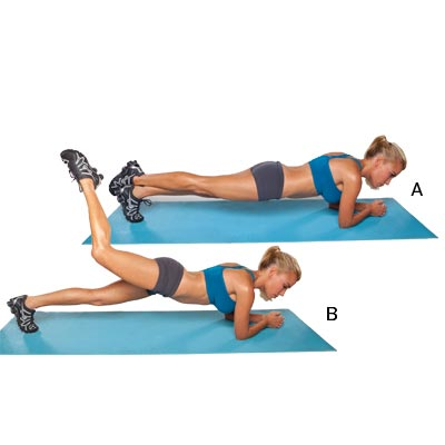 Elbow-Plank-and-Butt-Lift